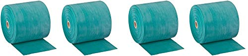 Cando 10-5623 Green Latex-Free Exercise Band, Medium Resistance, 50 yd Length (4-(Pack))