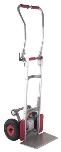 magline clk110gng4aluminio funciona con escalera escalada carretilla de mano, mango plegable, ruedas neumáticas, capacidad...