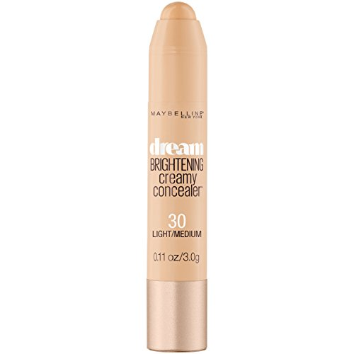 Maybelline New York Dream Brightening Creamy Concealer, Light/Medium, 0.11 oz.