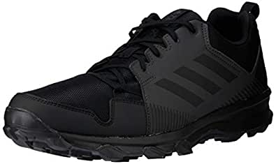 adidas Australia Men's Terrex Tracerocker Trail Running Shoes, Core Black/Core Black/Utility Black, 6.5 US