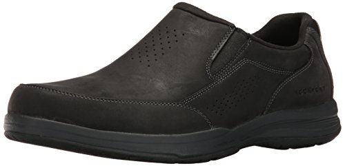 Oiled Rockport Walking Barecove On Men's Black Slip Park Shoe 6R6ga8Wq
