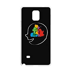 Samsung Galaxy Note 4 Cell Phone Case White MIXED FEELINGS LV7142011