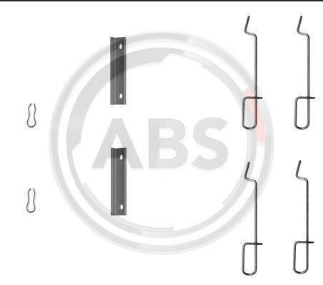 ABS 1125Q Zubeh/örsatz Scheibenbremsbelag