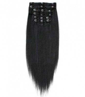 "30"" 8 Piece Clip Ins 175g to 180 Gram Remi Human Hair Extens"