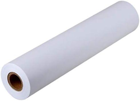 STOBOK Weiße Zeichenpapierrolle Malpapierrolle für Kinder Die Kunsthandwerk Malen (45 Cm X 10 M)