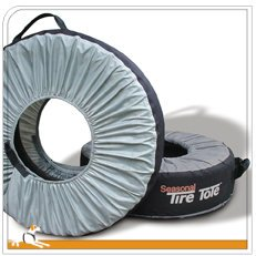 Kurgo Tire Cover & Seasonal Tire Tote (TM) - Pack of 4
