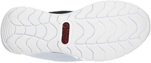 L5141 Sneakers Basses Femme Rieker Silver Pazifik Pazifik zTZqpwR