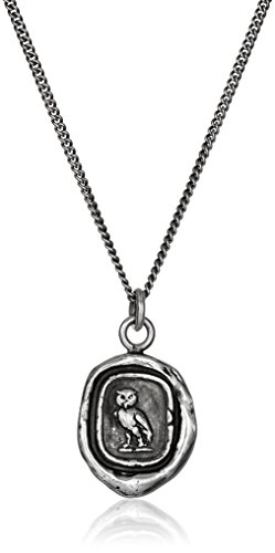 Pyrrha Talisman Sterling Silver Watch Over Me Pendant Necklace, 18'' by Pyrrha