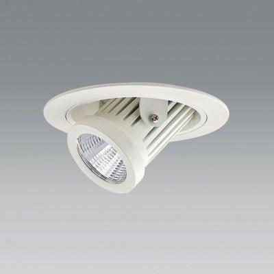 ユニティ LEDユニバーサルダウンライト ダウンスポットタイプ Φ100 2700K 12Vハロゲン50W形相当 狭角 ホワイト UDL-1161NW-27 B07B7KCQ93