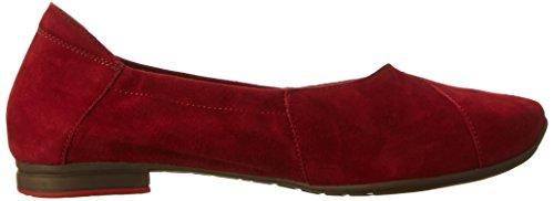 Think! Damen Gaudi Geschlossene Ballerinas Rot (rosso 70)