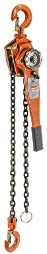 JEGS Performance Products 81249 Lever Chain Hoist 1.5-Ton Capacity, 5 ft. ()