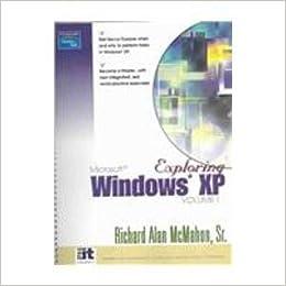 Book Exploring Windows XP: v. 1