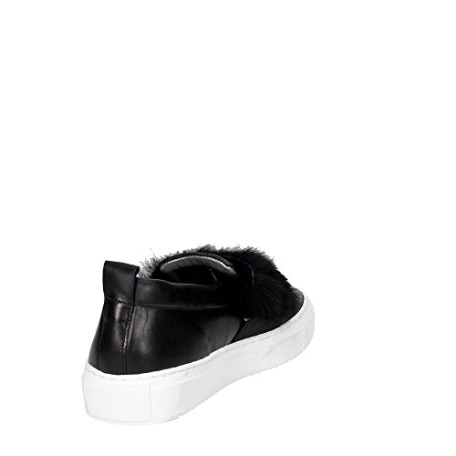 D.a.t.e. I17-56 Niedrige Sneakers Damen Schwarz