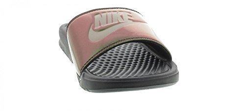 Nike Wmns Benassi JDI Print Größe (Variation) 40.5, Größenschema 40.5, Variationsfarbe Grün, Farbschema Grün