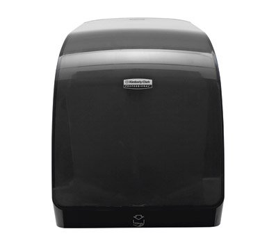 "Kimberly-Clark MOD E-Series Electronic Paper Towel Dispenser, 16 15/16""H x 12 11/16""W x 9 1/4""D, Black"