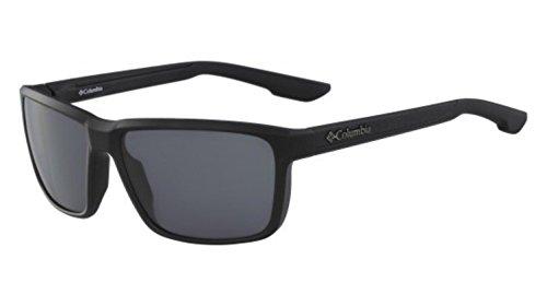 Columbia Men's Zonafied Rectangular Sunglasses, Matte Shark, 58 - Sunglasses Frames Columbia