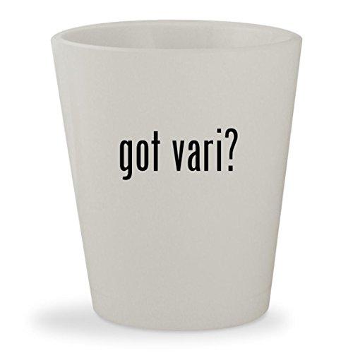 got vari? - White Ceramic 1.5oz Shot - Vari Glasses