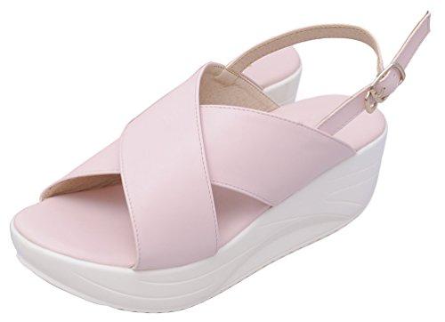 CFP - Sandalias mujer rosa claro