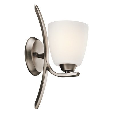 Granby 1 Light Wall Sconce Finish: Olde Bronze