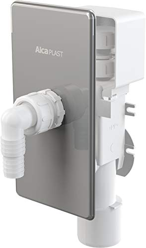 AlcaPlast APS3P - Escurridor con tubo para lavadora ...