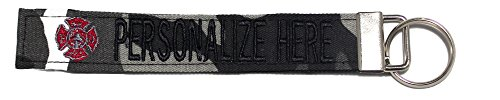 - Northern Safari Personalized Military Name Tapes Logo Key Chain/LUGGAGE and/or CRATE tags, Snow Camo, 6