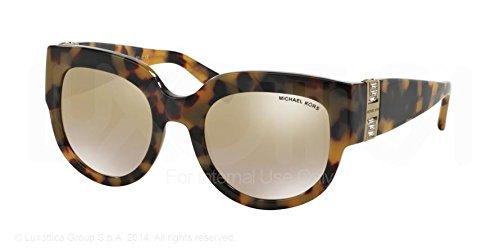 Michael Kors Villefranche Sunglasses MK2003B 30136E Vintage Tortoise Gold Mirror Gradient 51 21 - Michael Kors Vintage