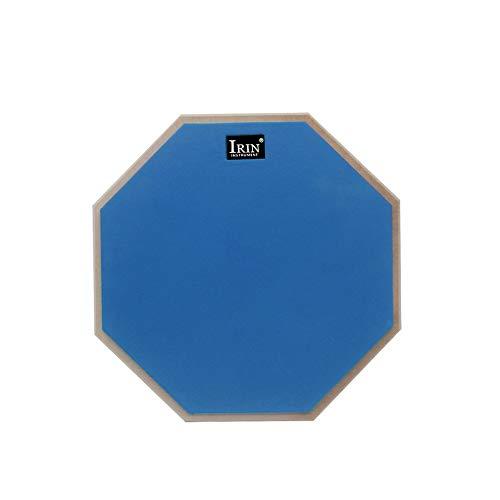 Mouchao 12 Inch Drum Practice Mat Hit Board Practice Silencer Quiet Training Drum Pad