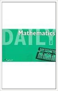 Amazon com: Great Source Daily Math: Daily Math Grade 5 2001