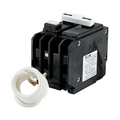 Eaton GFTCB250 Plug-On Mount Type GFTCB Ground Fault Circuit Breaker 2-Pole 50 Amp 120/240 Volt AC
