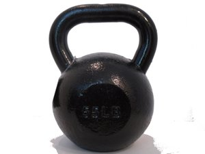 New 55lb Cast Iron Kettlebell Kettle Bell 55 Pound 15 Pood Free 2 3