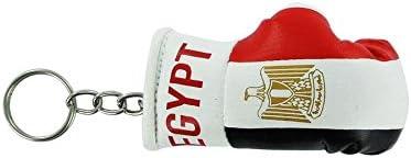 Akacha Porte cles Egypte Gant de Boxe Drapeau Flag cle Clef clefs egyptien