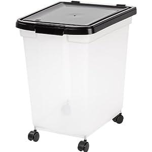 IRIS Nesting Airtight Pet Food Container, Extra Large