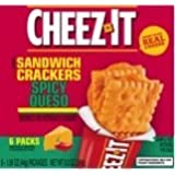 Cheez-It Cracker Sandwiches 8.9-oz Packages (Pack of 4) (Spicy Queso) by Sunshine