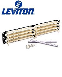 Rackmount Dimmer - Leviton 41DBR-3F5 GigaMax 5E 110-Style Wiring Block, Rack Mount Kit, Cat 5E with C5S, 300-Pair