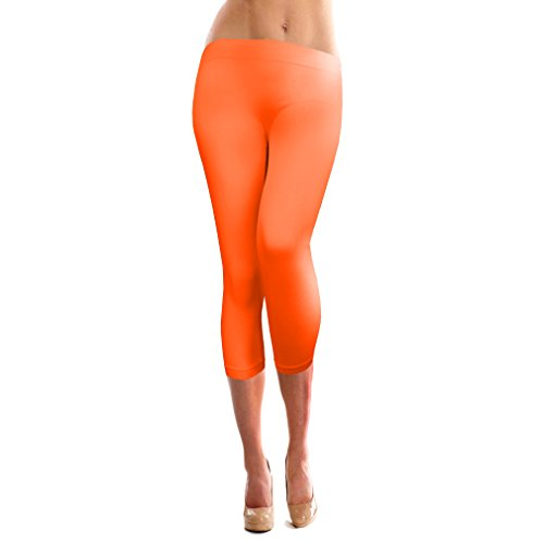 Basico Womens Solid Seamless Legging
