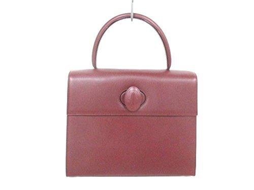 (カルティエ) Cartier ハンドバッグ マストライン ボルドー 【中古】 B07DHNFR61