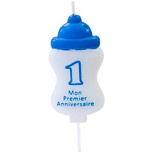 Hobi Vela cumpleaños 1 an biberón azul (x1) Ref/bga1400 ...