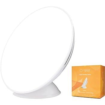 Circadian Optics Lampu Light Therapy Lamp | Ultra Bright 10,000 Lux Full Spectrum LED Light