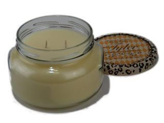 1 X Tyler Glass Fragrance Candle 22 - Lamp Candle Tyler Fragrance