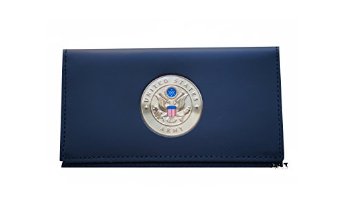 US ARMY, Officially Licensed CHECKBOOK COVER with Medallion - Executive Checkbook Cover