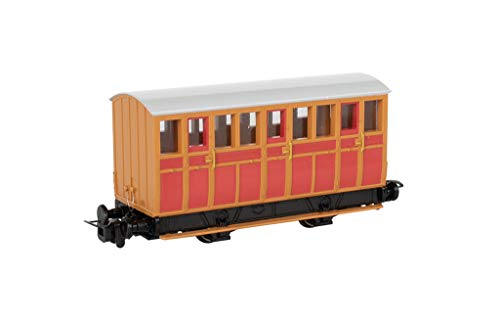 Thomas & Friends Narrow Gauge Red Carriage - Runs on N Scale Track from Bachmann Trains