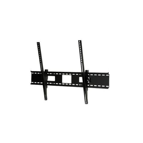 (Peerless Industries ST680 SmartMount Universal Tilt Wall Mount - Mounting kit ( wall plate, tilt bracket, security fasteners ) for flat panel - black - screen size: 61 inch - 102 inch)