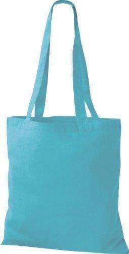 algodón Bolsa asa azul Shirtinstyle de con wYqzva