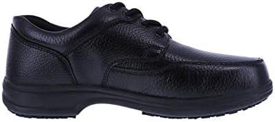 safeTstep Black Men's Slip Resistant