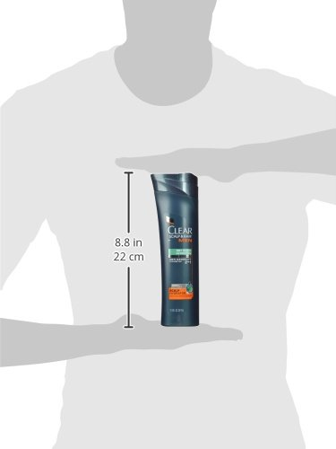 Clear Scalp and Hair Men Shampoo and Conditioner, Dry Scalp Hydration 12.9 oz