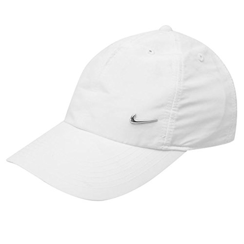 3753ed514a5 Nike Met Swoosh Cap Junior (White