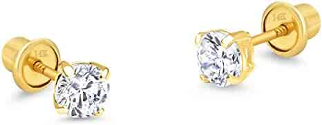 ac463394d Shopping 14k Gold - Children Earring by lovearing or Gem Star USA ...