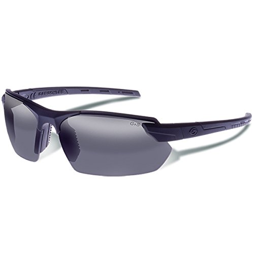 Image of Gargoyles 9005304 Vortex Sunglasses Matte Black/Smoke