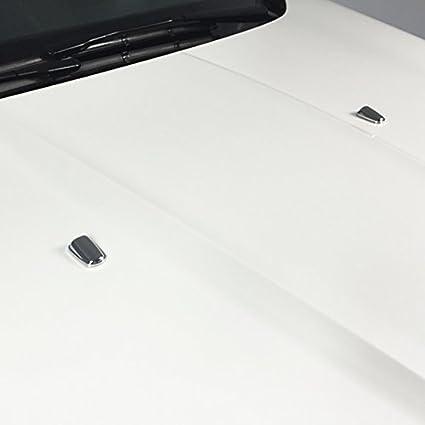 Boquilla de pulverización para limpiaparabrisas delantero, cromada, para Focus MK3 Mondeo MK4 C-max MK2 Fiesta MK6: Amazon.es: Coche y moto