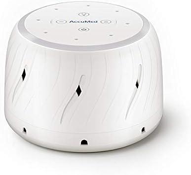 AccuMed máquina de ruido blanco para dormir, bebé, con ventilador ...